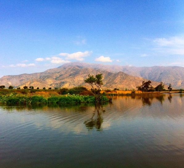 Paz en la Laguna Caren