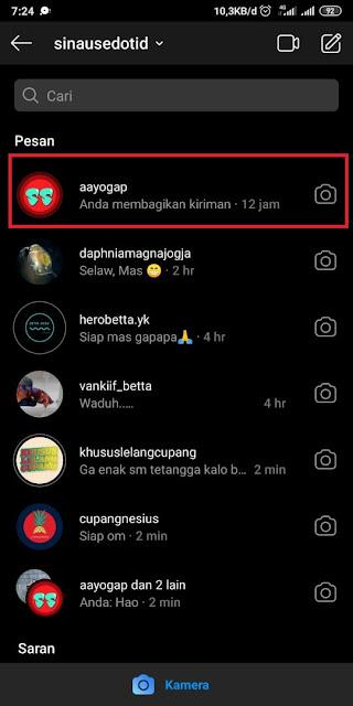 Cara Video Call di Instagram 1