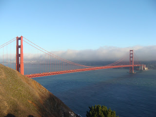 USA Reise Experten Ansicht der Golden Gate Bridge und Bay of San Francisco