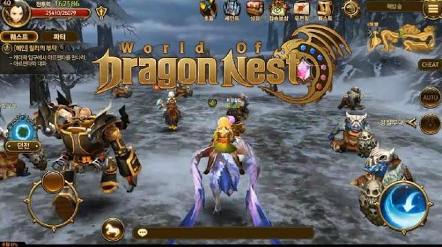 dragonest game legendaris