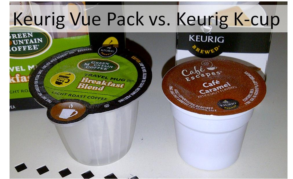 Keurig Vue Pack Vs K Cup