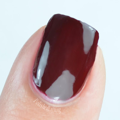 nail polish close up