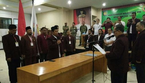 Ketua DPW.PPNI Sulsel Hasil Muswil VIII Di Kab. Kep. Selayar, Resmi Dilantik