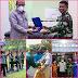 WAKIL KETUA DPD RI LETJEN TNI MARINIR (PURN) DR. NONO SAMPONO M.Si BESERTA ROMBONGAN KUNJUNGI SARANG PETARUNG HARIMAU PUTIH YONIF 8 MARINIR