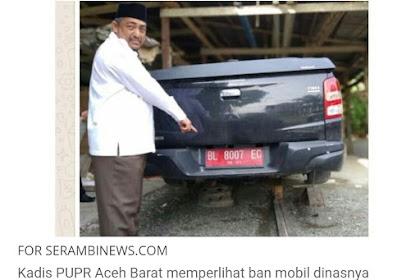 That Geupap! Bhan Moto Keupala Dinaih Man 4 Boh Jibaplueng Lé Pancuri