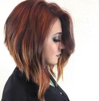 model rambut bob nungging panjang