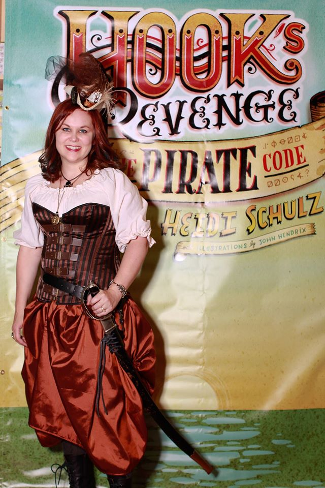 EPBOT Book Review An Adventure With Captain Hook's Daughter ? YES