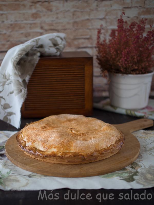 Tarta de manzana alemana y Sorteo