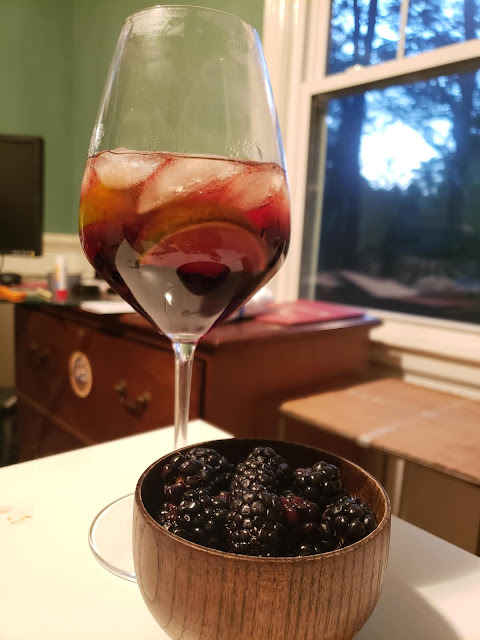 The Blackberry Business Sangria