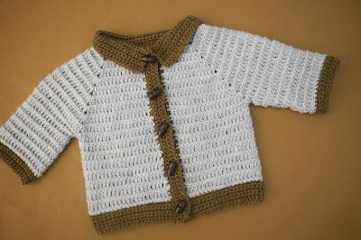 4 - Crochet imagen Chaleco con mangas para niño a crochet y ganchillo por Majovel Crochet