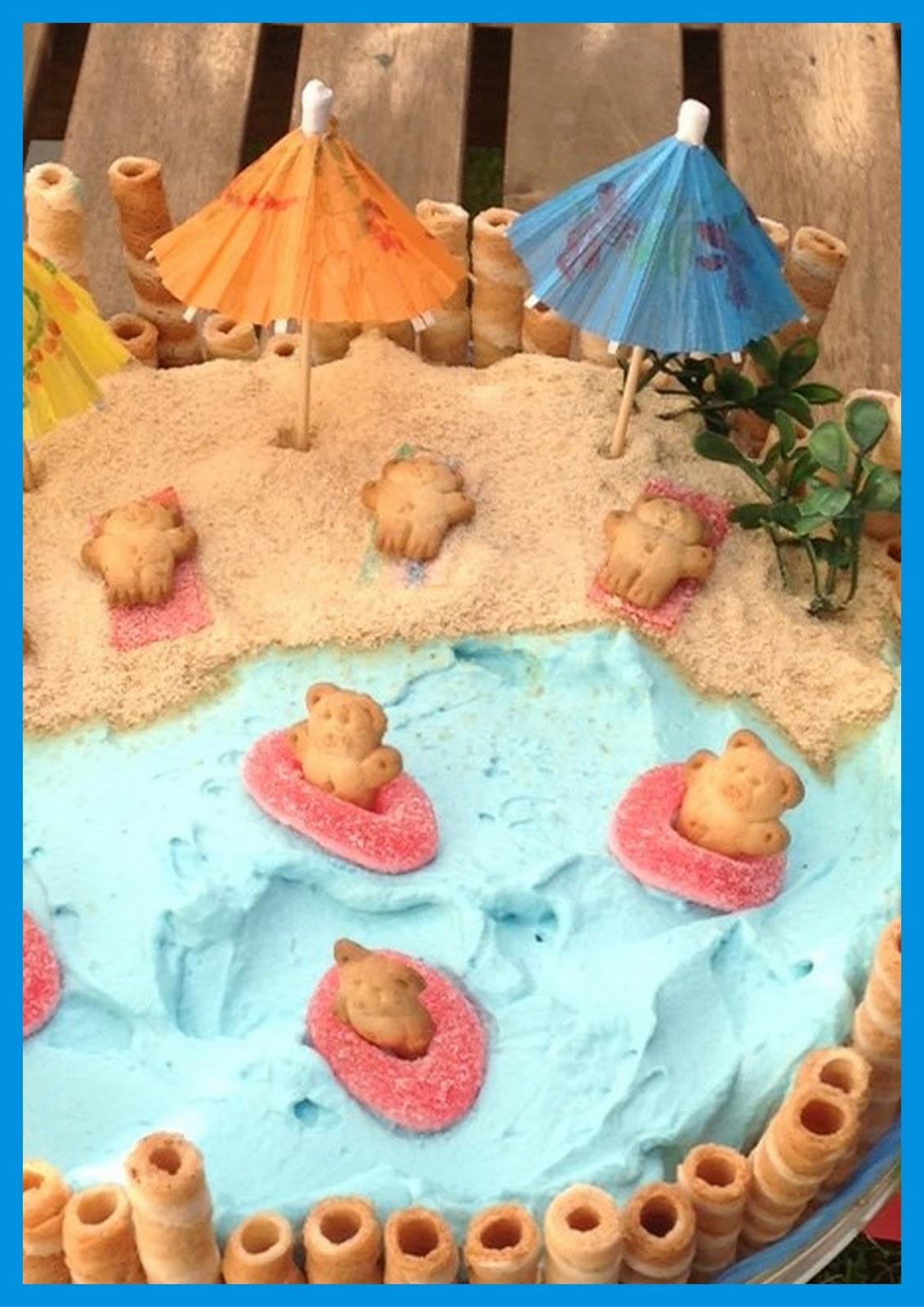 Tarde De Hadas Tarta Fiesta En La Playa