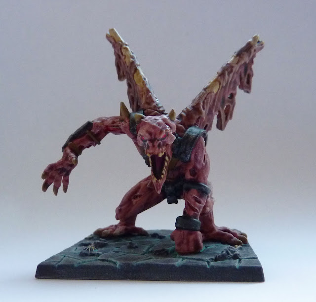 Ba'el - Undead Demonlord for Return of Valandor expansion for Mantic's Dungeon Saga.