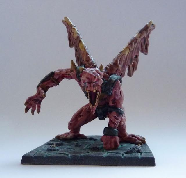 Ba'el - Undead Demonlord for Return of Valandor expansion for Mantic's Dungeon Saga.