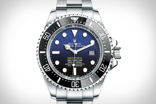 Photo of Rolex Deepsea with D-Blue Dial (photo: Rolex)