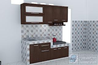 Kitchen Set Panjang 2 Meter
