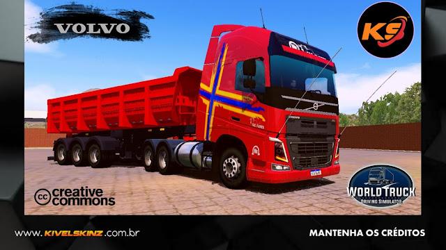 VOLVO FH16 750 - FAZ. FLORES VERMELHO