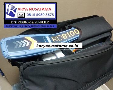Jual Pipe Locator RD 8100 Cable Locator di Surabaya