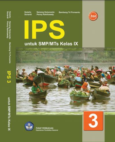 Download Buku Siswa KTSP SMP dan MTs Kelass 9 Ilmu Pengetahuan Sosial
