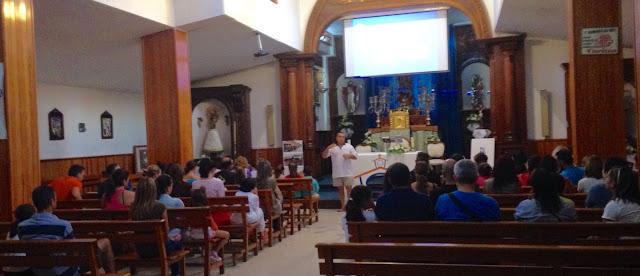 Resultado de imagen de ensayos primeras comuniones parroquia guadalupe los realejos