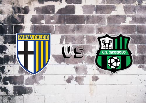Parma vs Sassuolo  Resumen