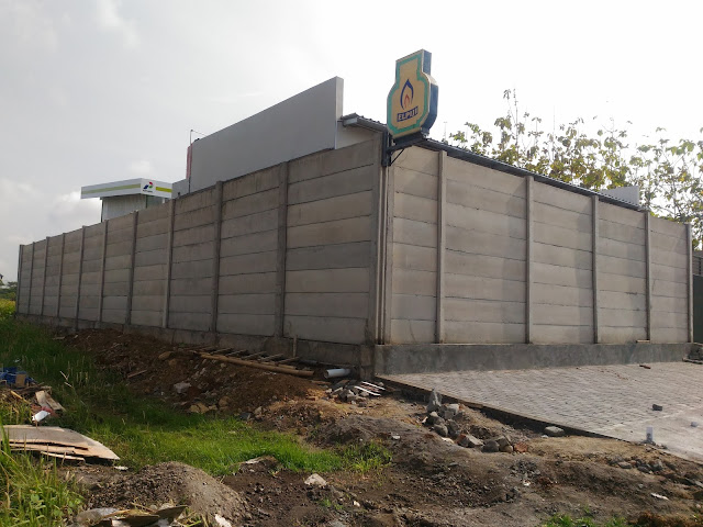 pagar beton k350