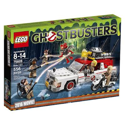 TOYS : JUGUETES - LEGO Ghostbusters  Cazafantasmas - 75828 Ecto 1 &2  PELICULA 2016 | Piezas: 556 | Edad: 8-14 AÑOS  Comprar en Amazon España & buy Amazon USA