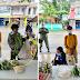 """Ginang, Umani ng Positibong Reaksyon Dahil sa Paghandog Niya ng mga Inaning Gulay sa Isang 'Community Pantry"""""""