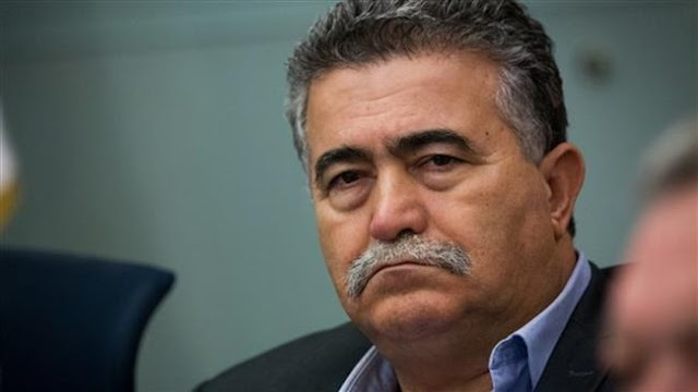 Former Israeli minister of military affairs Amir Peretz's visit sparks protests at the Moroccan parliament in Rabat