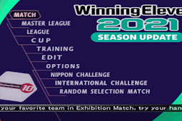 Winning Eleven 2021 + Liga 1 Shopee Indonesia PS2 ISO