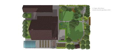 Эскизный проект сада, Курск