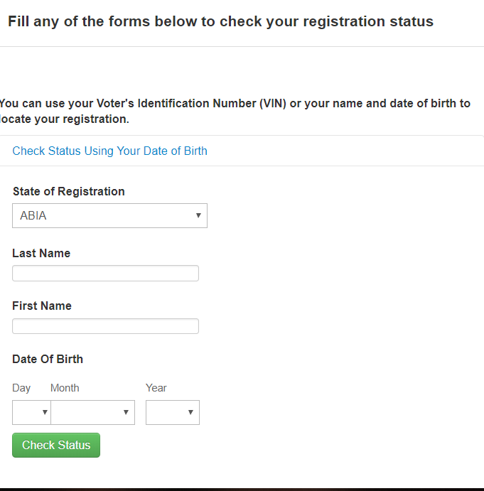 Voter Register Verification