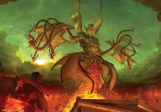 El mito de Tifón, el padre de todos los monstruos