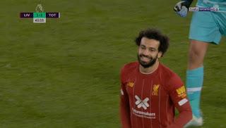 ملخص لمسات محمد صلاح في مباراة ليفربول وتوتنهام