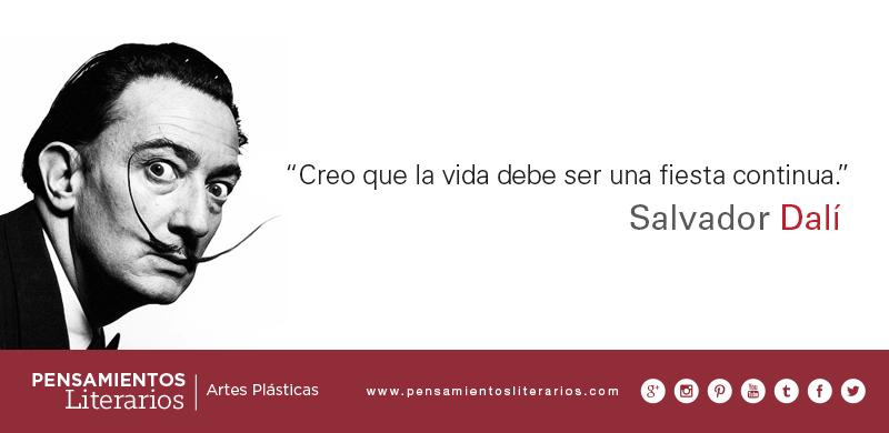 Pensamientos Literarios Salvador Dalí Sobre La Vida