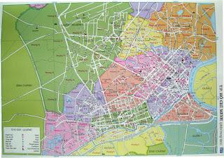 Plano callejero de Ciudad de Ho Chi Minh