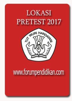 Lokasi Pretest 2017
