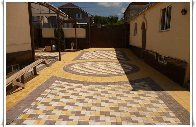 Тротуарная плитка в Феодосии