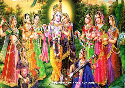 Radha Krishna Raas Leela Wallpapers