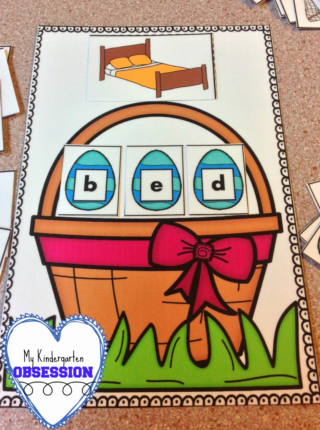 My Kindergarten Obsession Easter Centers For