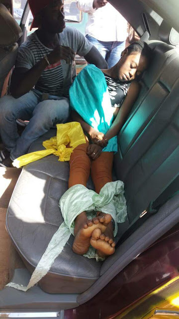 Photos: Young lady raped and murdered in her hair salon; legs and hands found bound