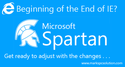 Internet Explorer is being replaced by Spartan