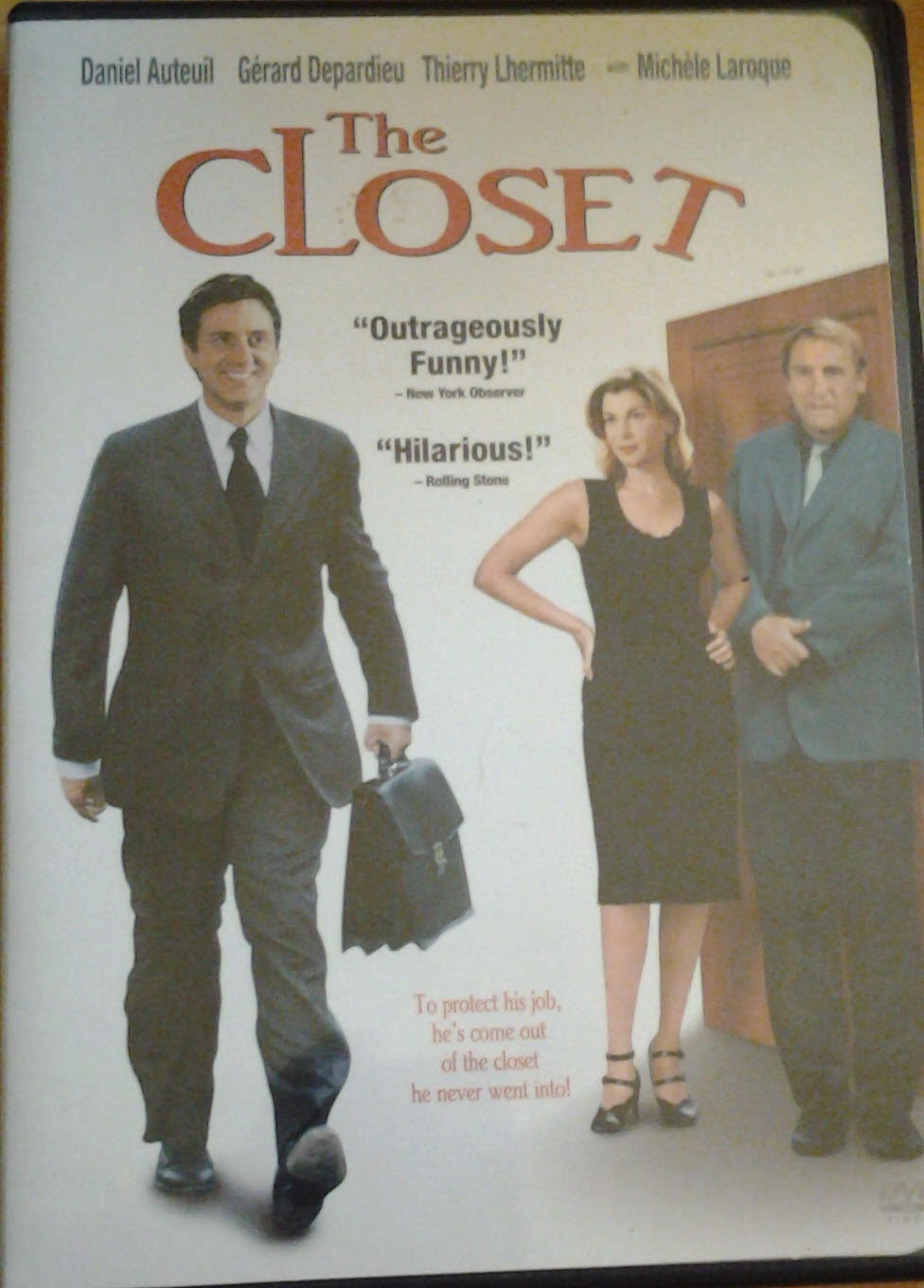 DVD Cover - The Closet