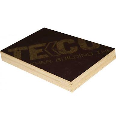 Ván phủ phim Tekcom có cấu tạo từ nhiều lớp gỗ ghép lại