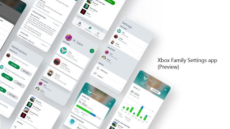 Xbox Family Settings, nuova app per gestire i giochi dei più piccoli da smartphone