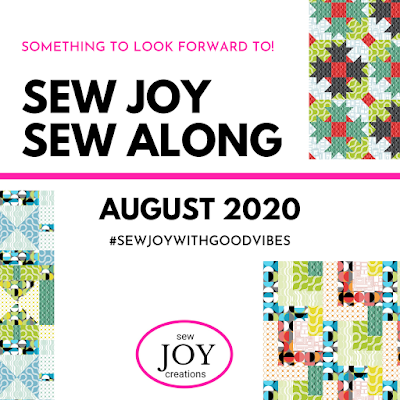 sew joy sew along august 2020