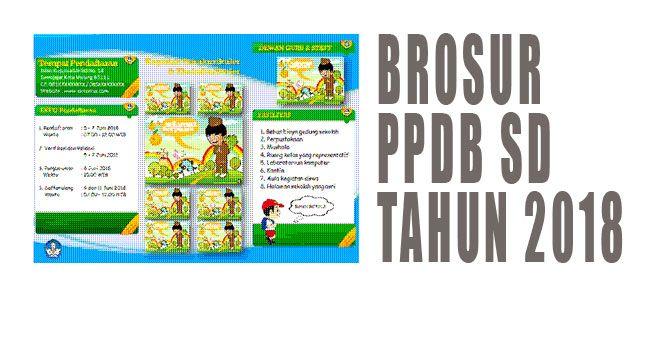 brosur sekolah/ppdb