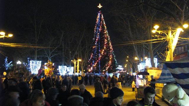 Новогодняя ёлка в Николаеве