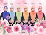 New Collection of Bianglala by Pencil Scarves!