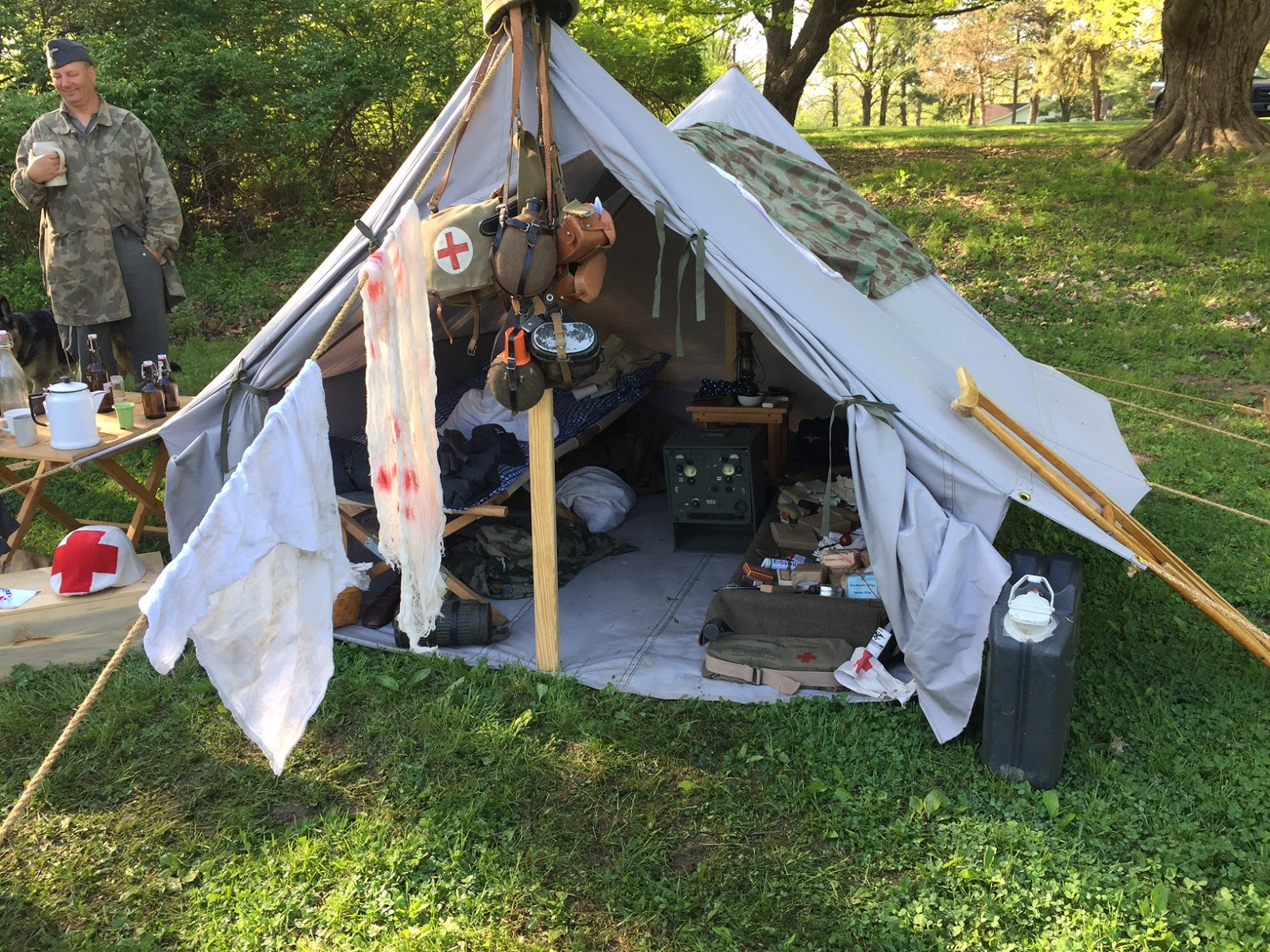 TRUPPENZELT - German WWII Troop Tent & German WWII Tents from Armbruster | Armbruster Tent Maker
