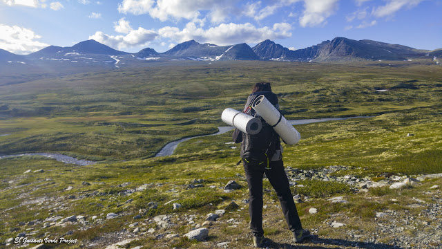 Paisaje en la RutaParque Nacional Rondane - Noruega, por El Guisante Verde Project